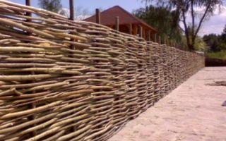 Строим деревянный забор