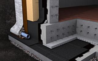 Гидроизоляция подвалов, фундамента и гидроизоляция стен цоколя