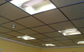 Подвесные потолки Амстронг для дома дома и офиса