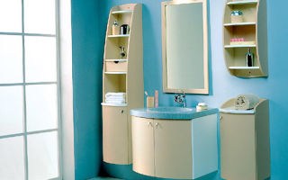 Выбираем материал для мебели в ванную комнату