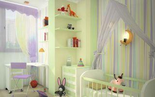 Выбор помещения для детской комнаты