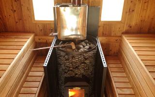 Какая печь выгоднее для дачной бани?