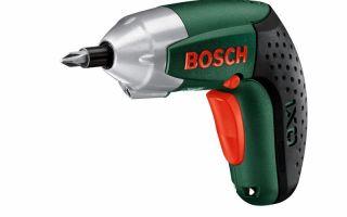 Новый шуруповерт Bosch IXO – пятое поколение компактных аккумуляторных инструментов