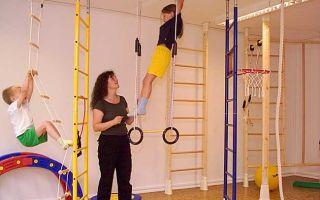 Польза тренировок на шведской стенке