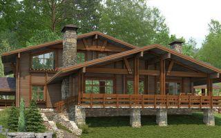 Дома из бруса — современное решение для загородного строительства