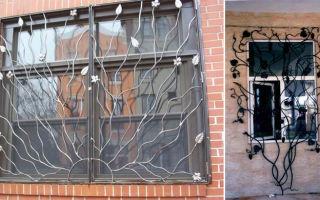 Кованые решётки на окна – надёжная защита от преступников