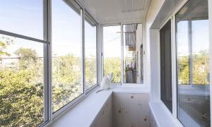 Пластиковое остекление балконов