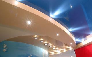 Натяжные потолки – идеальный вариант отделки
