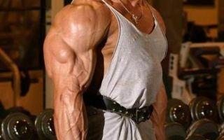 Тренировка плечей