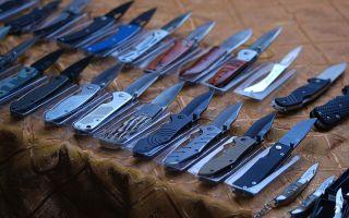 Классификация промышленных ножей