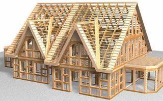 Каркасный деревянный дом – экологичность и надежность