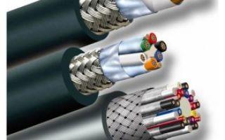 Расшифровка маркировки силового кабеля ВВГнг(А)-LS
