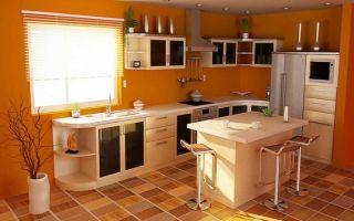 Выбор пола на кухни