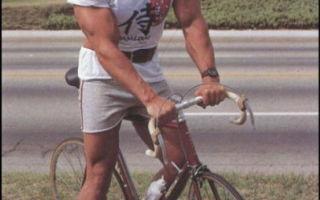 Бодибилдинг и велосипед