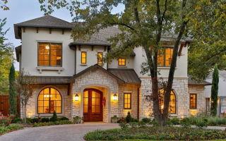 Уютный и красивый пригородный дом