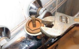 Ремонт смесителя в ванной