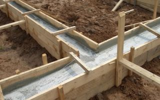 Как правильно залить ленточный фундамент под дом