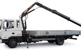 Транспортировка грузов с помощью крана-манипулятора
