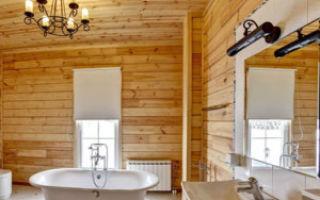 Гидроизоляция в ванной в деревянном доме
