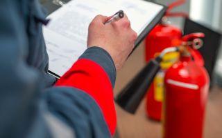 Перезарядка огнетушителей – исправность прибора