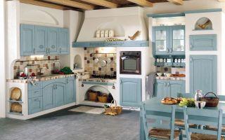 Кухня в деревенском стиле: фото-идеи, особенности дизайна