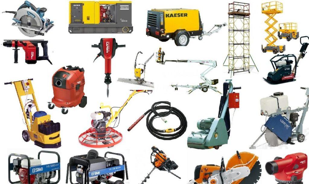 Польза аренды стройоборудования