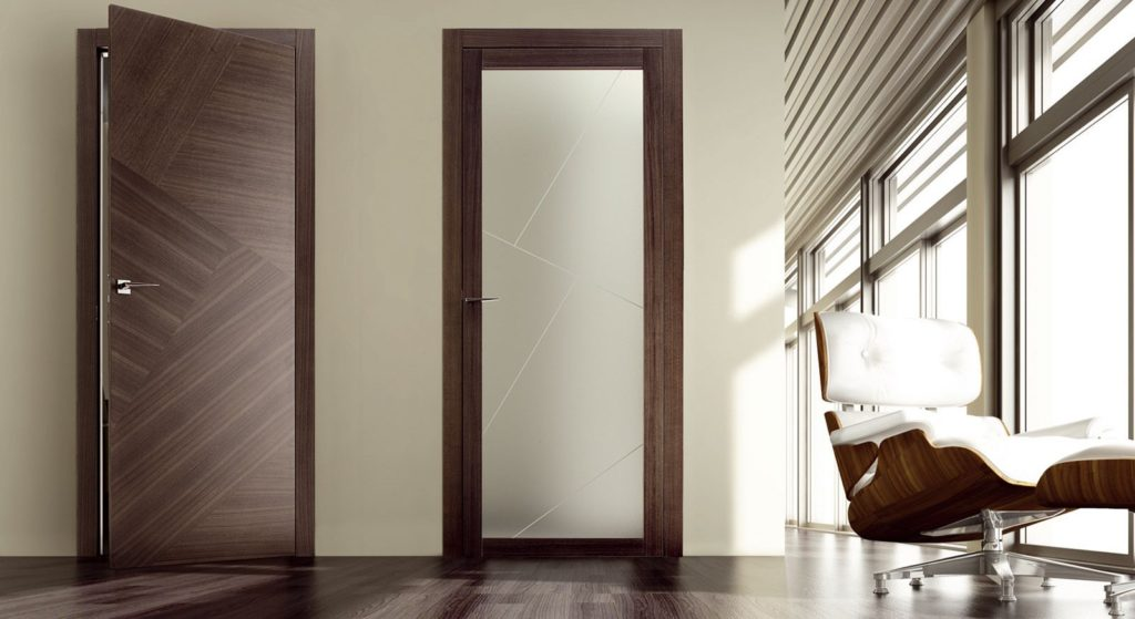 Шпонированные двери - особенности выбора