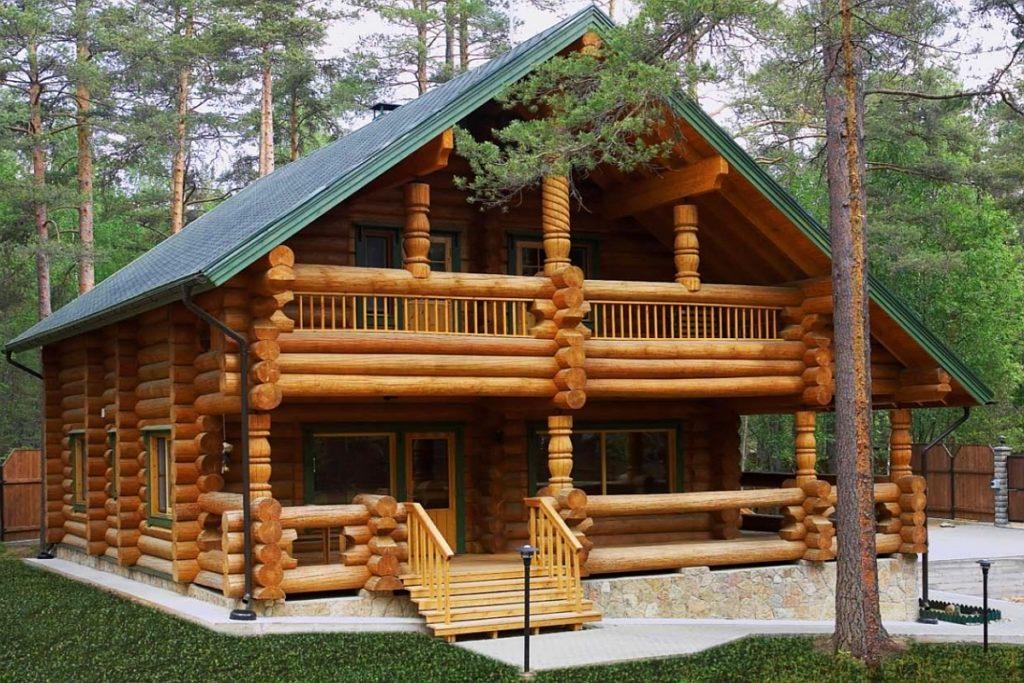 Деревянные дома под ключ из лиственницы