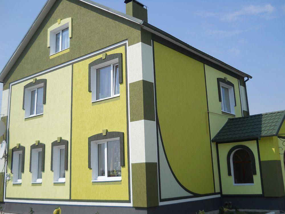 Красим Ваш фасад дома. Как правильно выбрать цвет?