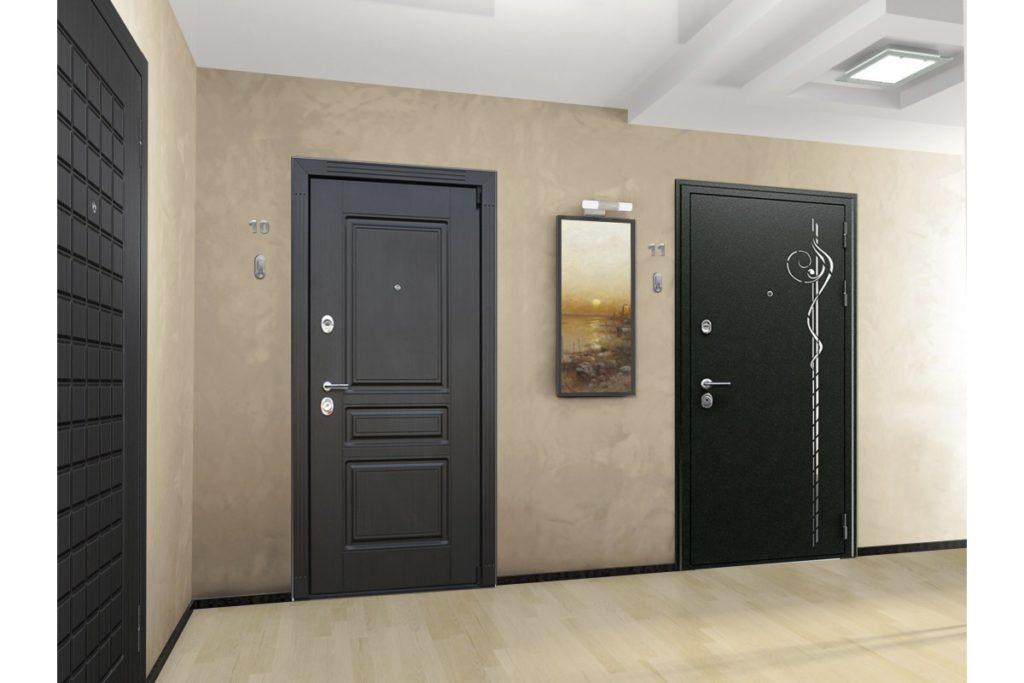 Выбираем входные железные двери